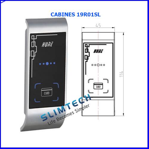 Review khóa tủ cabinet hune 19R01LP
